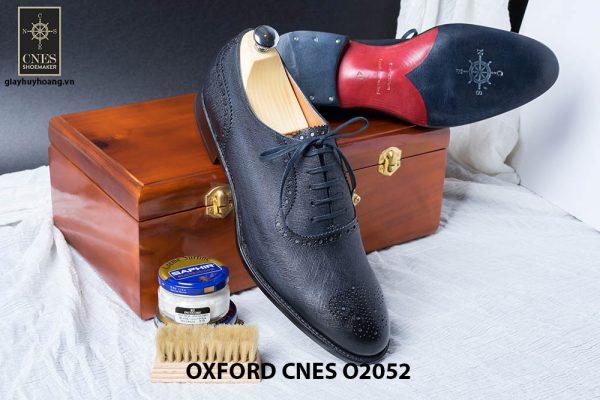Giày da nam Brogues Saphire Oxford CNES O2052 004