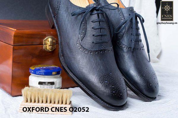Giày da nam Brogues Saphire Oxford CNES O2052 001