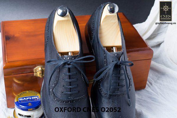 Giày da nam Brogues Saphire Oxford CNES O2052 002