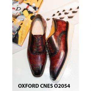 Giày da nam sắc màu núi lửa Oxford CNES O2054 004