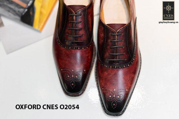 Giày da nam sắc màu núi lửa Oxford CNES O2054 003