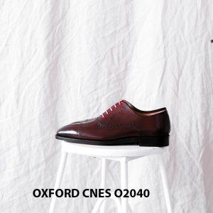 Giày tây nam nâu sẫm Oxford CNES O2040 003