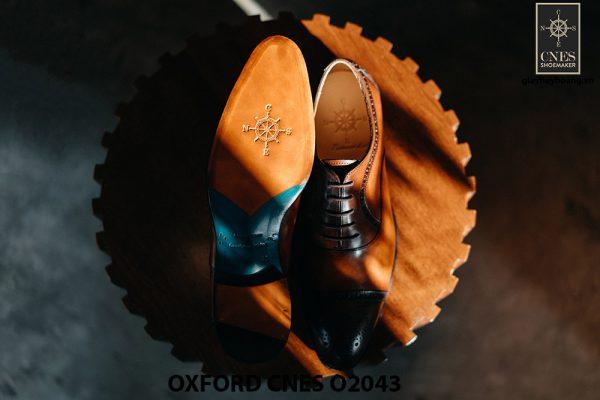 Giày oxford nam thon gọn CNES O2043 005
