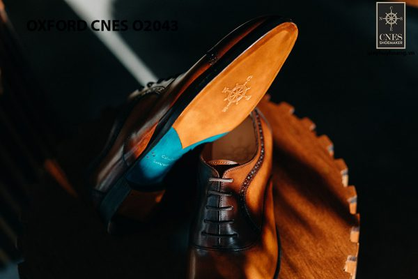 Giày oxford nam thon gọn CNES O2043 004