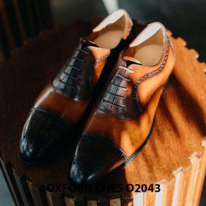 Giày oxford nam thon gọn CNES O2043 001