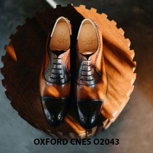 Giày oxford nam thon gọn CNES O2043 003