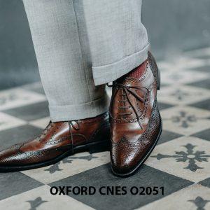 Giày da nam độc đáo Oxford CNES O2051 001
