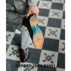 Giày da nam độc đáo Oxford CNES O2051 002