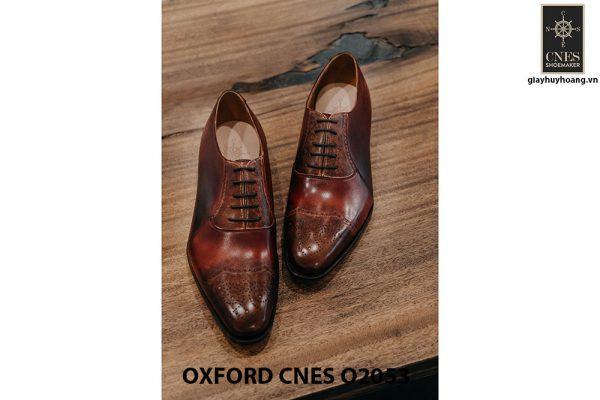 Giày buộc dây nam Oxford CNES O2053 005