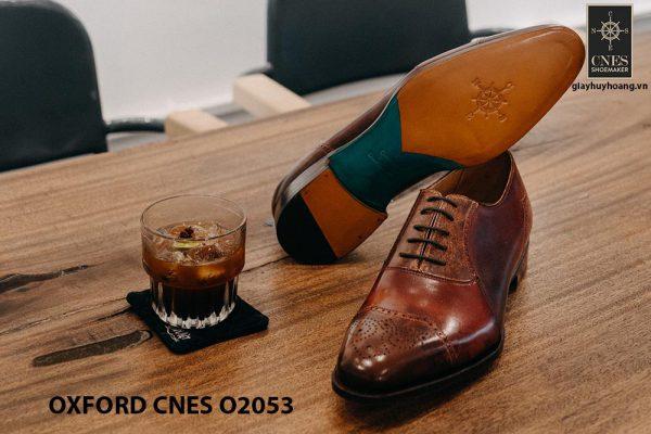 Giày buộc dây nam Oxford CNES O2053 003