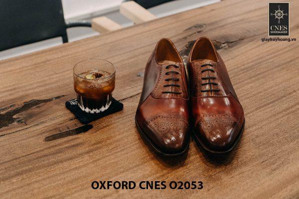 Giày buộc dây nam Oxford CNES O2053 001