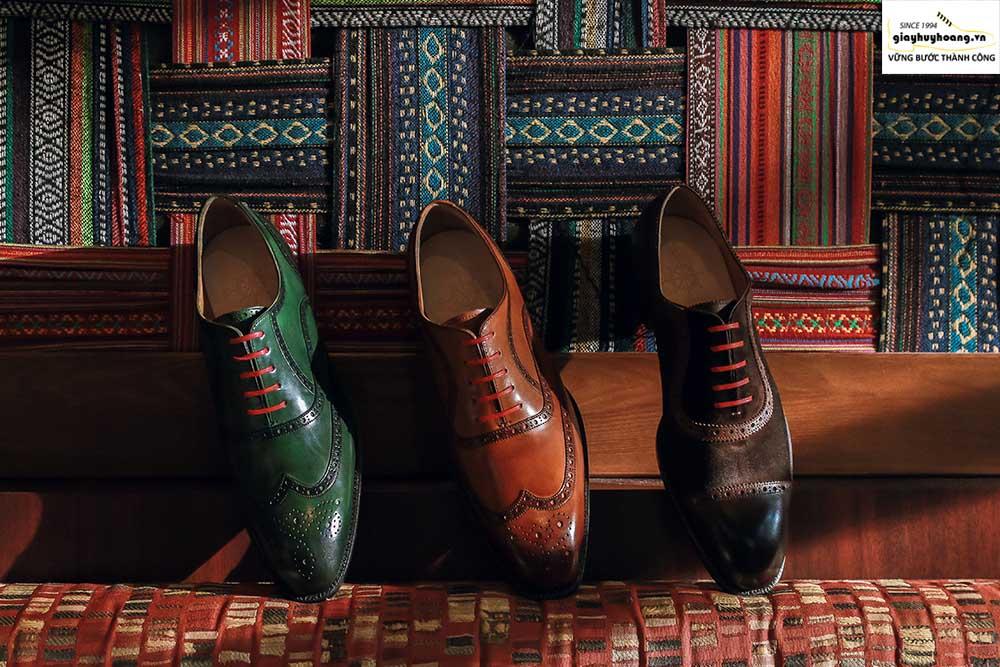 Công ty sản xuất giày da nam hàng hiệu nổi tiếng tại Việt Nam