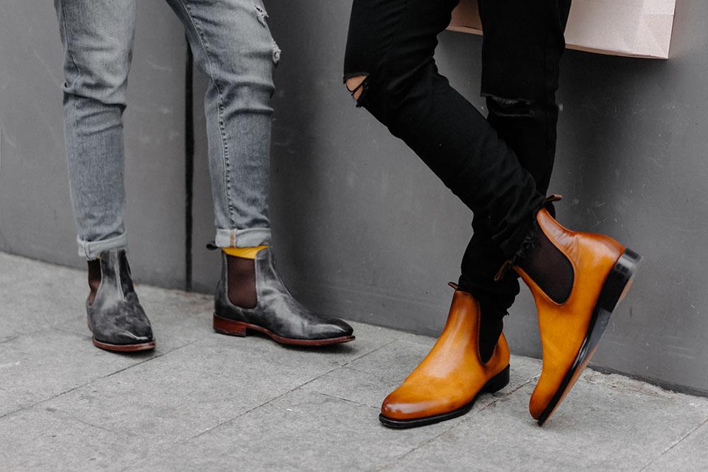Đi giày da bò nam thủ công có nóng như mọi người nghĩ???