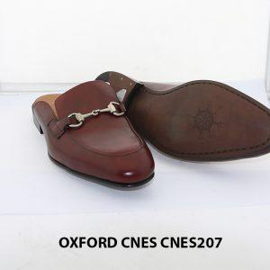 [Outlet Size 42] Dép nam phong cách loafer Cnes CNS207 003