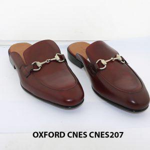 [Outlet Size 42] Dép nam phong cách loafer Cnes CNS207 001
