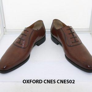 [Outlet size 42] Giày da nam thời trang Oxford Cnes CNES02 6