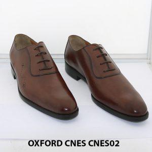 [Outlet size 42] Giày da nam thời trang Oxford Cnes CNES02 005