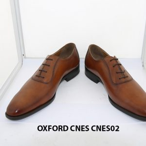 [Outlet size 42] Giày da nam thời trang Oxford Cnes CNES02 002