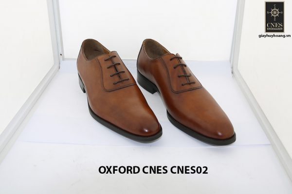 [Outlet size 42] Giày da nam thời trang Oxford Cnes CNES02 001