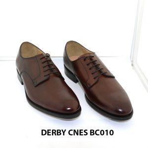[Outlet 39+43] Giày da nam buộc dây Derby Cnes BC010 001