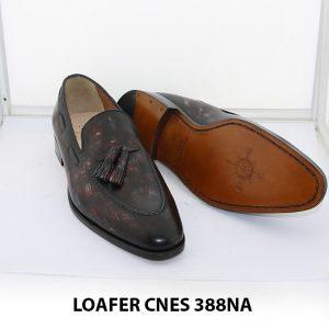 [Outlet Size 39] Giày lười nam có chuông loafer Cnes 388NA 003
