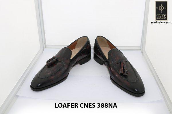 [Outlet Size 39] Giày lười nam có chuông loafer Cnes 388NA 002