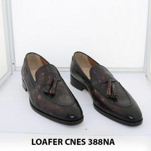 [Outlet Size 39] Giày lười nam có chuông loafer Cnes 388NA 001