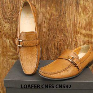 Giày lười nam da hột cao cấp Loafer Cnes CNS92 008