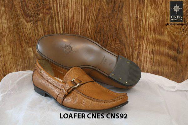 Giày lười nam da hột cao cấp Loafer Cnes CNS92 006