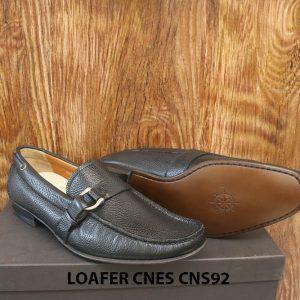 Giày lười nam da hột cao cấp Loafer Cnes CNS92 005