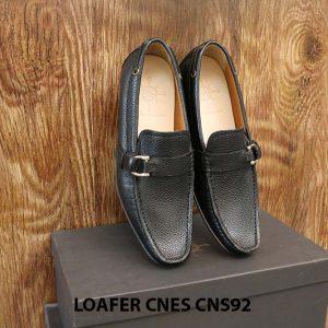Giày lười nam da hột cao cấp Loafer Cnes CNS92 004