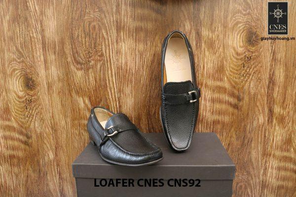 Giày lười nam da hột cao cấp Loafer Cnes CNS92 002
