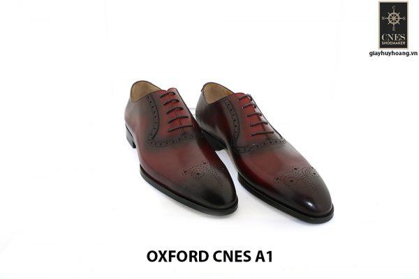Giày tây Oxford nam tuyệt đẹp Cnes A1 001