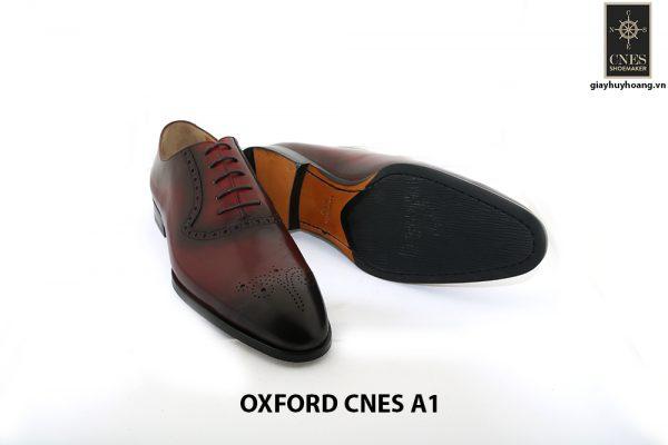 Giày tây Oxford nam tuyệt đẹp Cnes A1 003