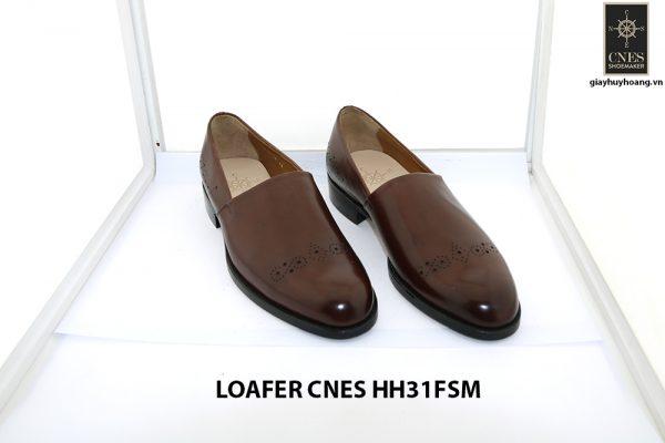 [Outlet size 40] Giày lười nam hàng hiệu loafer Cnes HH31FSM 001