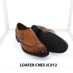 [Outlet Size 40] Giày lười nam thoải mái Loafer Cnes JC012 002