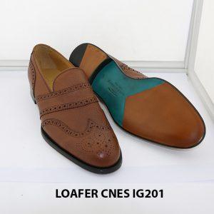 [Outlet 38+39+43] Giày lười nam hàng hiệu loafer Cnes IG201 003