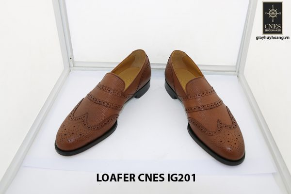 [Outlet 38+39+43] Giày lười nam hàng hiệu loafer Cnes IG201 002