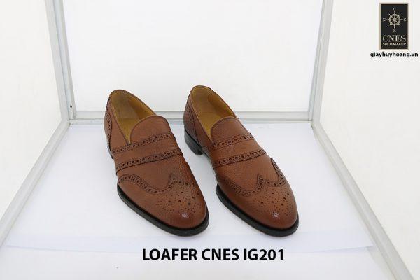 [Outlet 38+39+43] Giày lười nam hàng hiệu loafer Cnes IG201 001