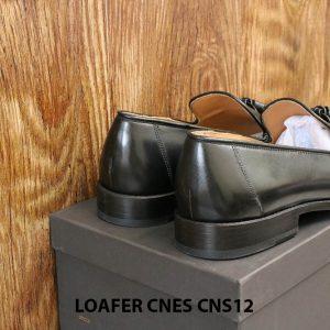[Outlet Size 42+43] Giày lười nam có chuông Tassel Loafer Cnes CNS12 007