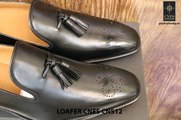 [Outlet Size 42+43] Giày lười nam có chuông Tassel Loafer Cnes CNS12 006