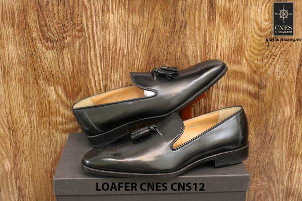 [Outlet Size 42+43] Giày lười nam có chuông Tassel Loafer Cnes CNS12 004