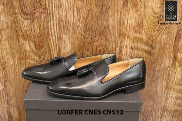 [Outlet Size 42+43] Giày lười nam có chuông Tassel Loafer Cnes CNS12 003