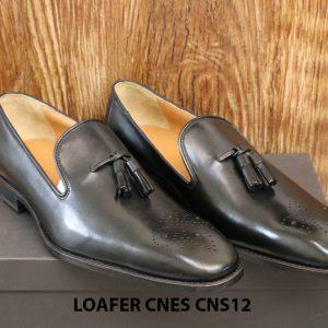 [Outlet Size 42+43] Giày lười nam có chuông Tassel Loafer Cnes CNS12 001