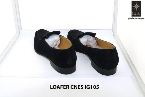[Outlet Size 42] Giày lười nam da lộn loafer Cnes IG105 003