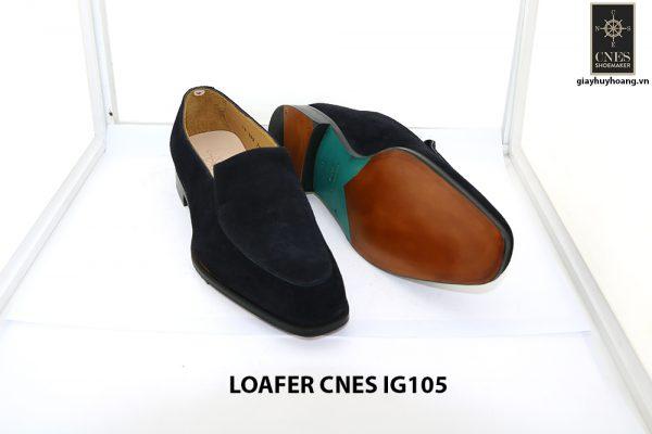 [Outlet Size 42] Giày lười nam da lộn loafer Cnes IG105 002