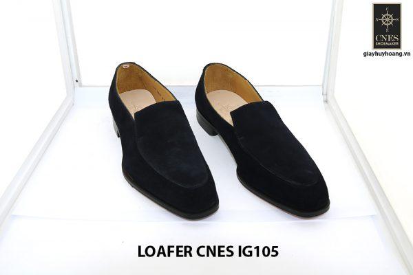 [Outlet Size 42] Giày lười nam da lộn loafer Cnes IG105 001