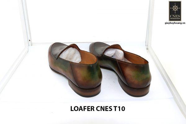 [Outlet Size 43] Giày lười nam không dây loafer Cnes T10 004