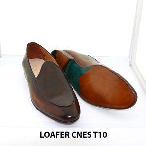 [Outlet Size 43] Giày lười nam không dây loafer Cnes T10 003