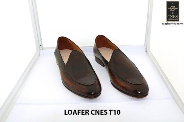 [Outlet Size 43] Giày lười nam không dây loafer Cnes T10 001